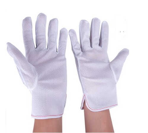 ESD Slip proof PVC Dotted glove  SP-GLO-02-1