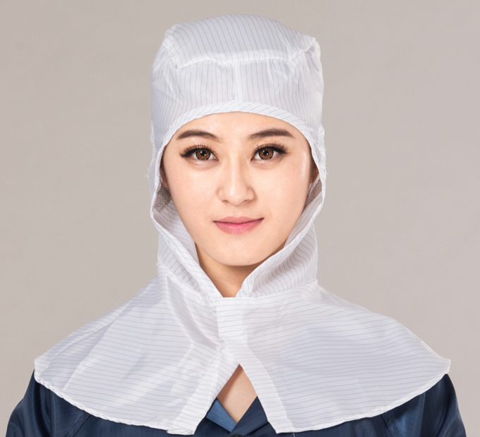 Cleanroom Antistatic Cape SP-CAP-04