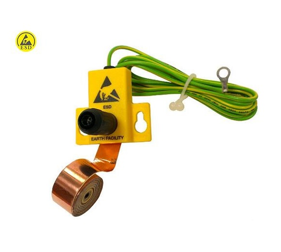 ESD Earth Grounding Bracket with copper tape SP-GRO-11