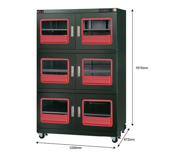 Ultra low humidity less 1% RH Dry Cabinet Dr.storage F1-1200-6
