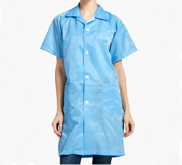 ESD Anti-static short sleeve coat SP-GAR-01-3