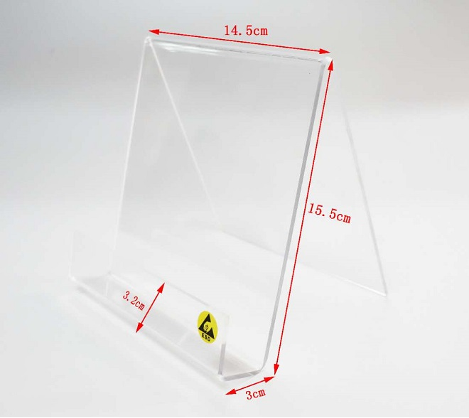 ESD TRANSPARENT WALL HOLDER FOR PAPERS & CATALOGUES  SP-STA-17