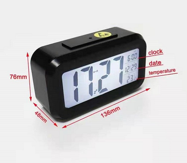 ANTI-STATIC ESD DIGITAL DESK CLOCK SP-STA-18